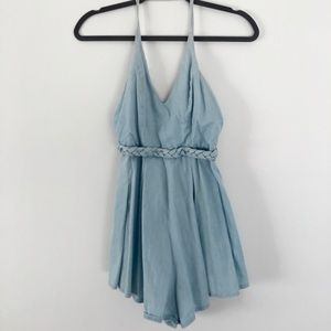 LF Denim Romper